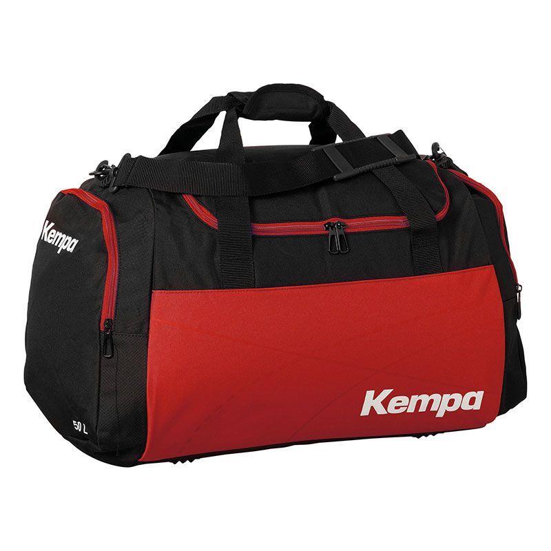 Kempa Teamline Sportsbag L (75 L) - Noir & Rouge