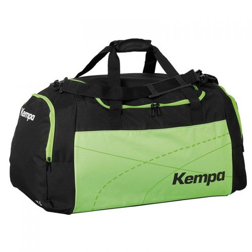 Kempa Teamline Sportsbag L (75 L) - Noir & Vert Fluo