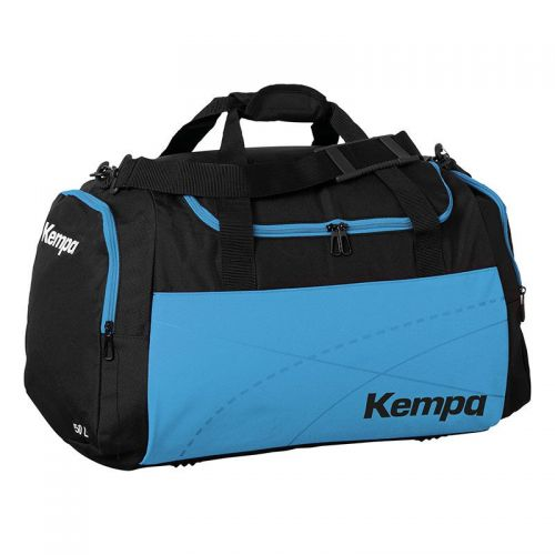 Kempa Teamline Sportsbag L (75 L) - Noir & Bleu Kempa