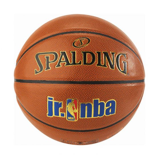 Spalding JR. NBA Ball - Gold In/Out