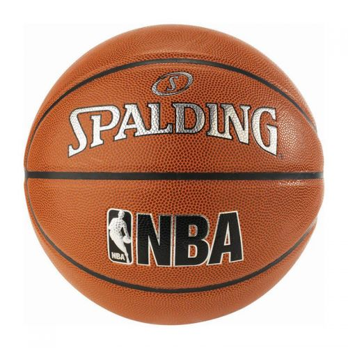 Spalding JR. NBA Ball - Silver In/Out