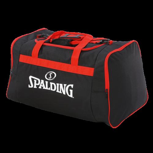 Spalding Team Bag M - Noir & Rouge