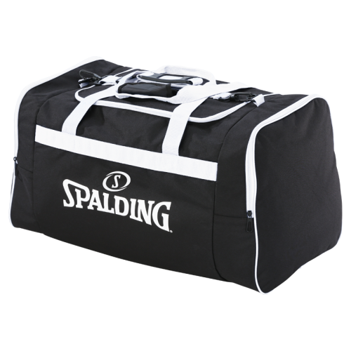 Spalding Team Bag L - Noir & Blanc