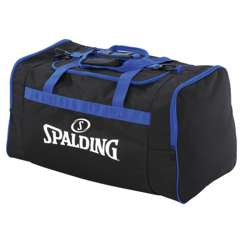 Spalding Team Bag L - Noir & Royal