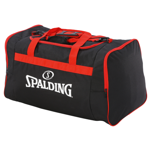 Spalding Team Bag L - Noir & Rouge