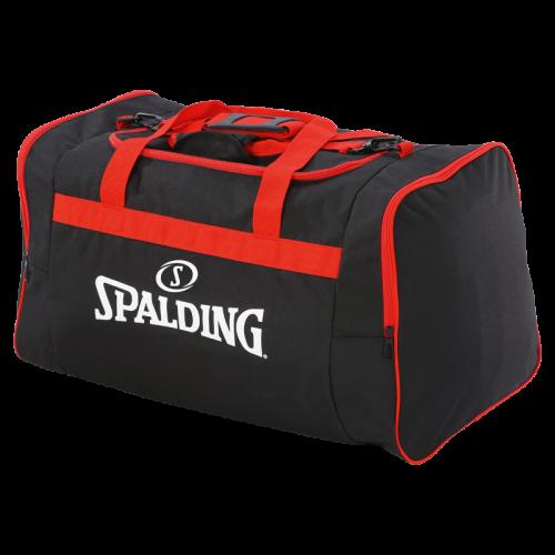 Spalding Team Bag L - Noir & Rouge