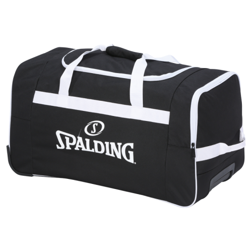 Spalding Team Trolley - Noir & Blanc