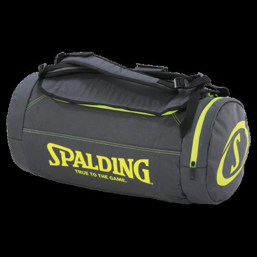 Spalding Duffle Bag - Antrhacite & Jaune Fluo