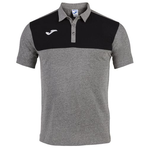 Joma Winner Polo - Gris & Noir