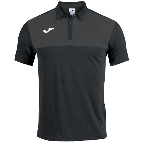 Joma Winner Polo - Noir & Gris
