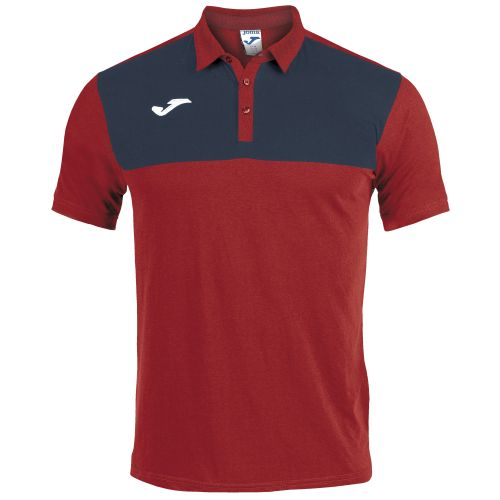 Joma Winner Polo - Rouge & Marine