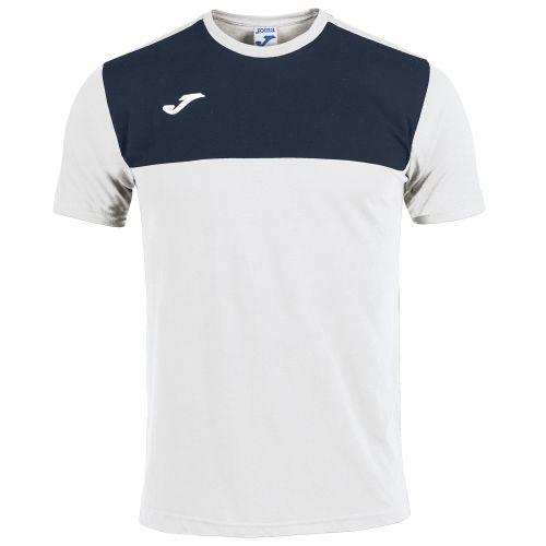 Joma Winner T-Shirt - Blanc & Marine