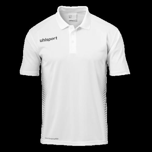 Uhlsport Score Polo - Blanc & Noir