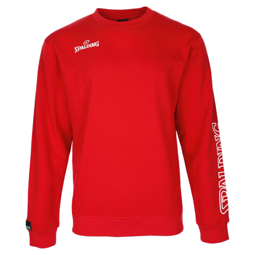 Spalding Team II Crewneck - Rouge