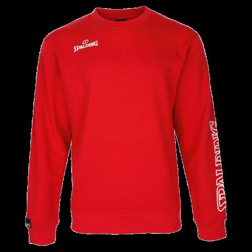 Spalding Team II Crewneck - Rouge