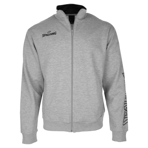 Spalding Team II Zipper Jacket - Gris chiné