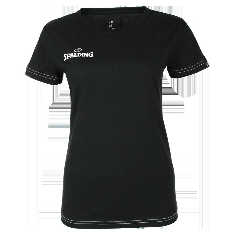 Spalding Team II T-shirt 4Her - Noir