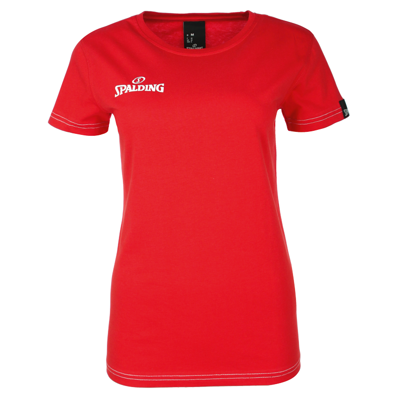 Spalding Team II T-shirt 4Her - Rouge