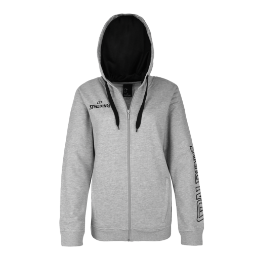 Spalding Team II Jacket 4Her - Gris chiné