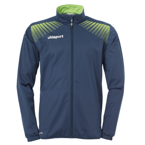 Uhlsport Goal Classic Jacket - Pétrole & Vert Flash