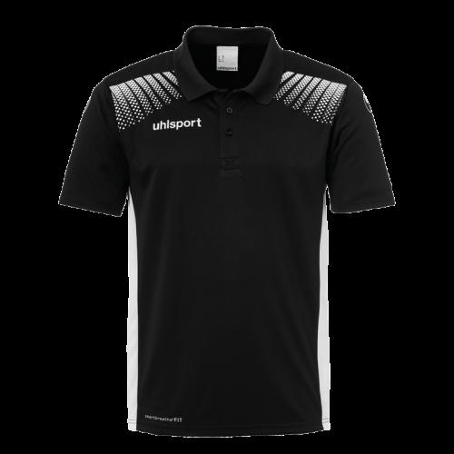 Uhlsport Goal Polo Shirt - Noir & Blanc