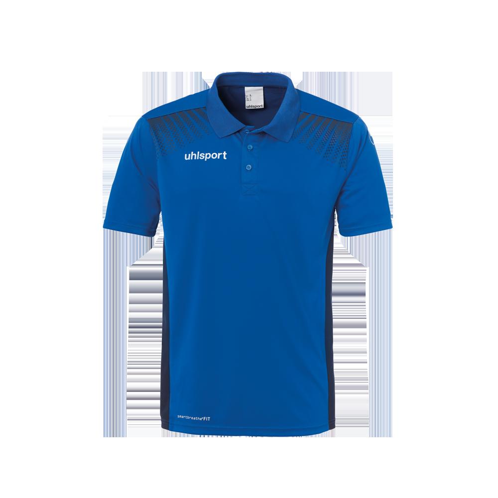 Uhlsport Goal Polo Shirt - Azur & Marine