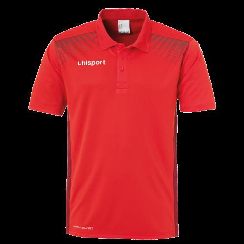 Uhlsport Goal Polo Shirt - Rouge & Bordeaux