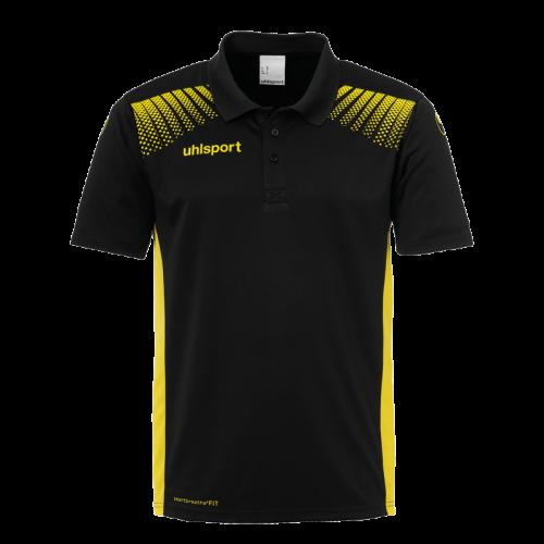 Uhlsport Goal Polo Shirt - Noir & Jaune