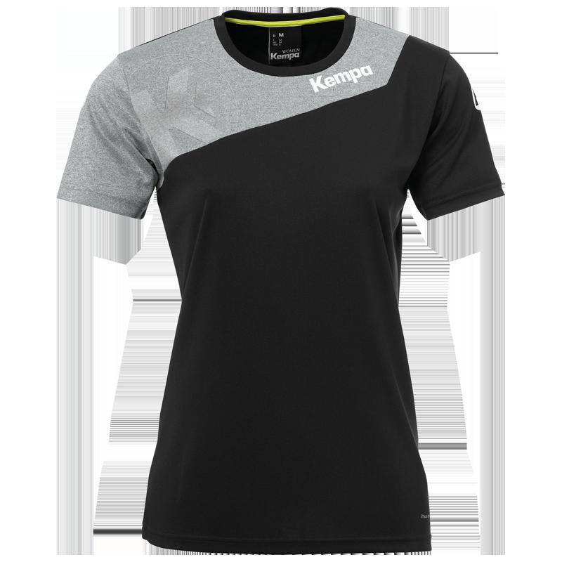 Core Femme 0 Noiramp; Shirt Kempa 2 Gris USqVzMp