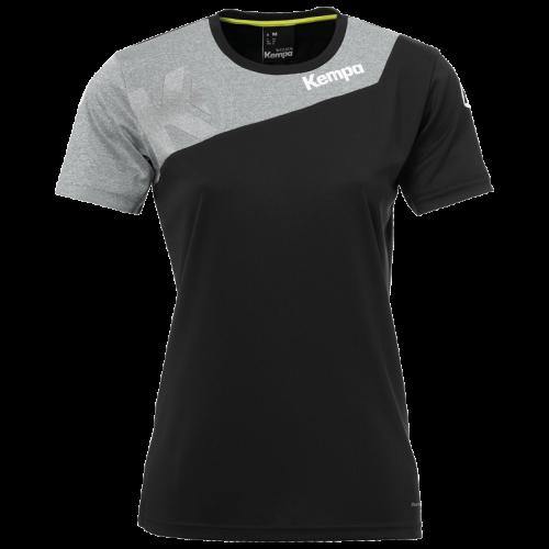 Kempa Core 2.0 Shirt Femme - Noir & Gris