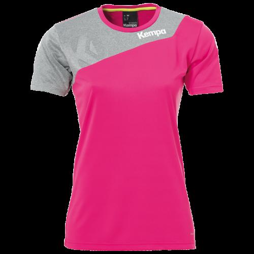 Kempa Core 2.0 Shirt Femme - Rose & Gris