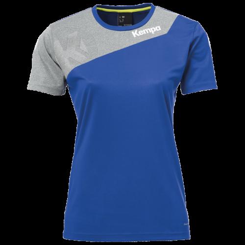 Kempa Core 2.0 Shirt Femme - Royal & Gris