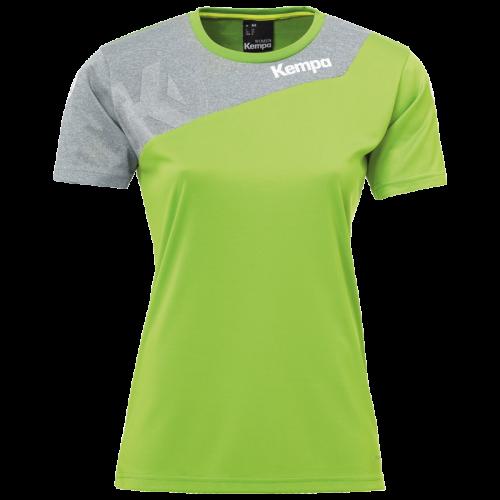 Kempa Core 2.0 Shirt Femme - Vert & Gris