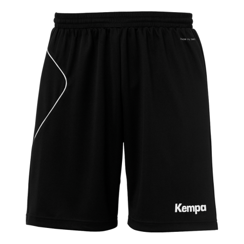 Kempa Curve Shorts - Noir & Blanc