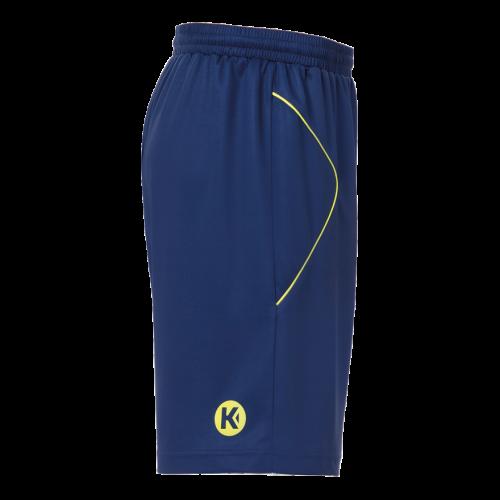Kempa Curve Shorts - Bleu & Jaune