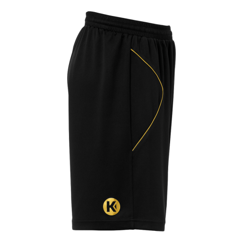 Kempa Curve Shorts - Noir & Or