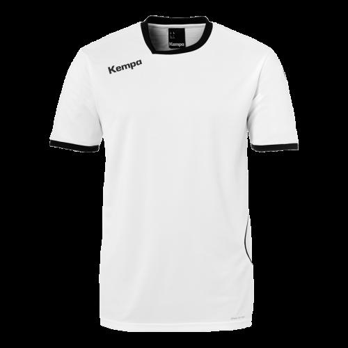 Kempa Curve Shirt - Blanc & Noir