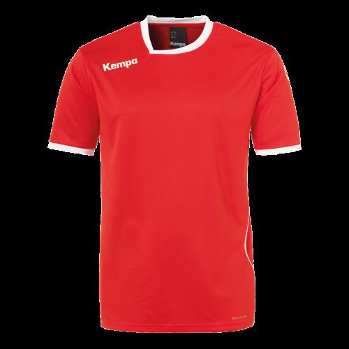 Kempa Curve Shirt - Rouge & Blanc