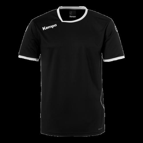 Kempa Curve Shirt - Noir & Blanc