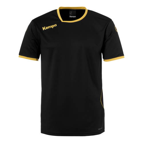 Kempa Curve Shirt - Noir & Or