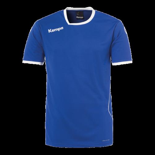 Kempa Curve Shirt - Royal & Blanc