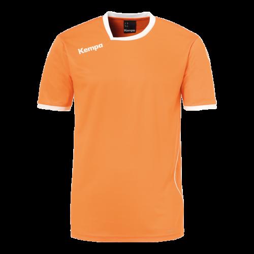 Kempa Curve Shirt - Orange & Blanc