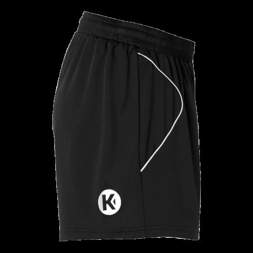 Kempa Curve Women Shorts - Noir & Blanc