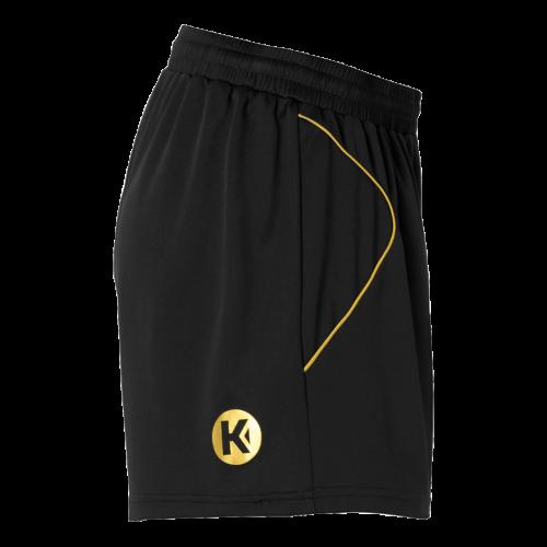 Kempa Curve Women Shorts - Noir & Or