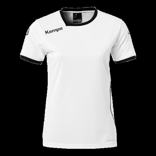 Kempa Curve Women Shirt - Blanc & Noir
