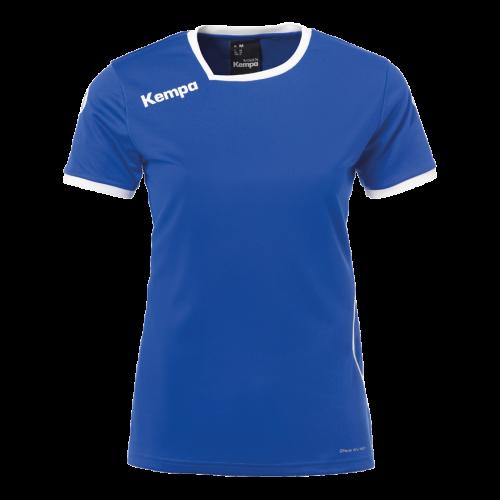 Kempa Curve Women Shirt - Royal & Blanc