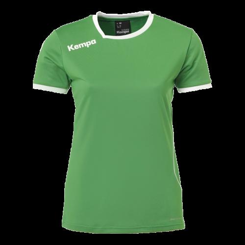 Kempa Curve Women Shirt -Vert & Blanc