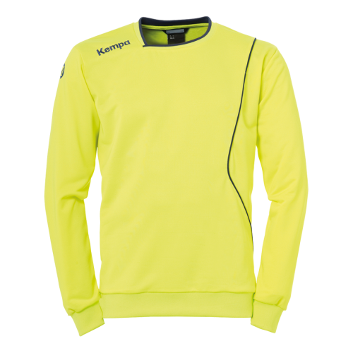 Kempa Curve Training Top - Jaune Fluo & Bleu