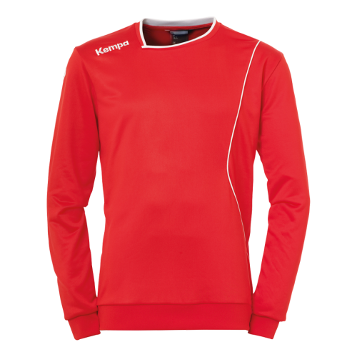 Kempa Curve Training Top - Rouge & Blanc