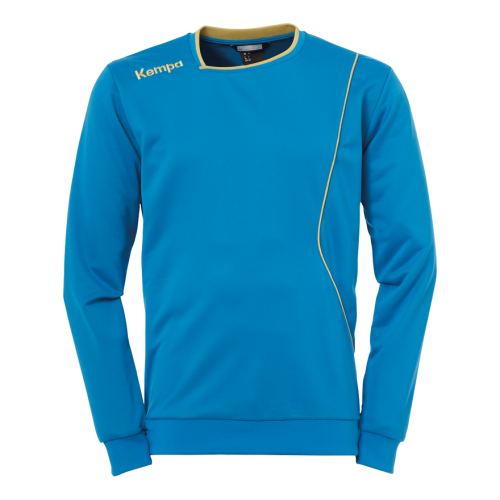 Kempa Curve Training Top - Bleu Kempa & Or